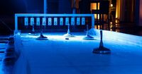 Curling rink at Golfhotel Vesper near by Wuppertal