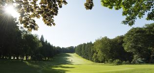 The Golfcourse of Golfhotel Vesper nearby Wuppertal