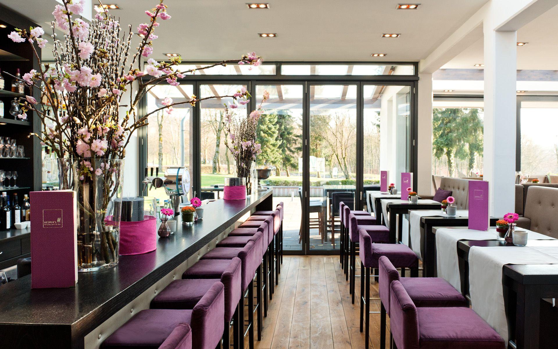 VESPER\'S Restaurant & Bar im Golfhotel bei Wuppertal